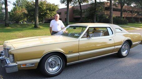 Elliott Weiner of Smithtown with his 1976 Thunderbird