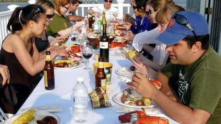 A two-day seafood festival featuring oysters, clams and
