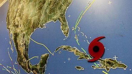 Tracking Hurricane Irene.