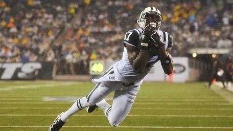 PLAXICO BURRESS, New York Jets Jets wide receiver