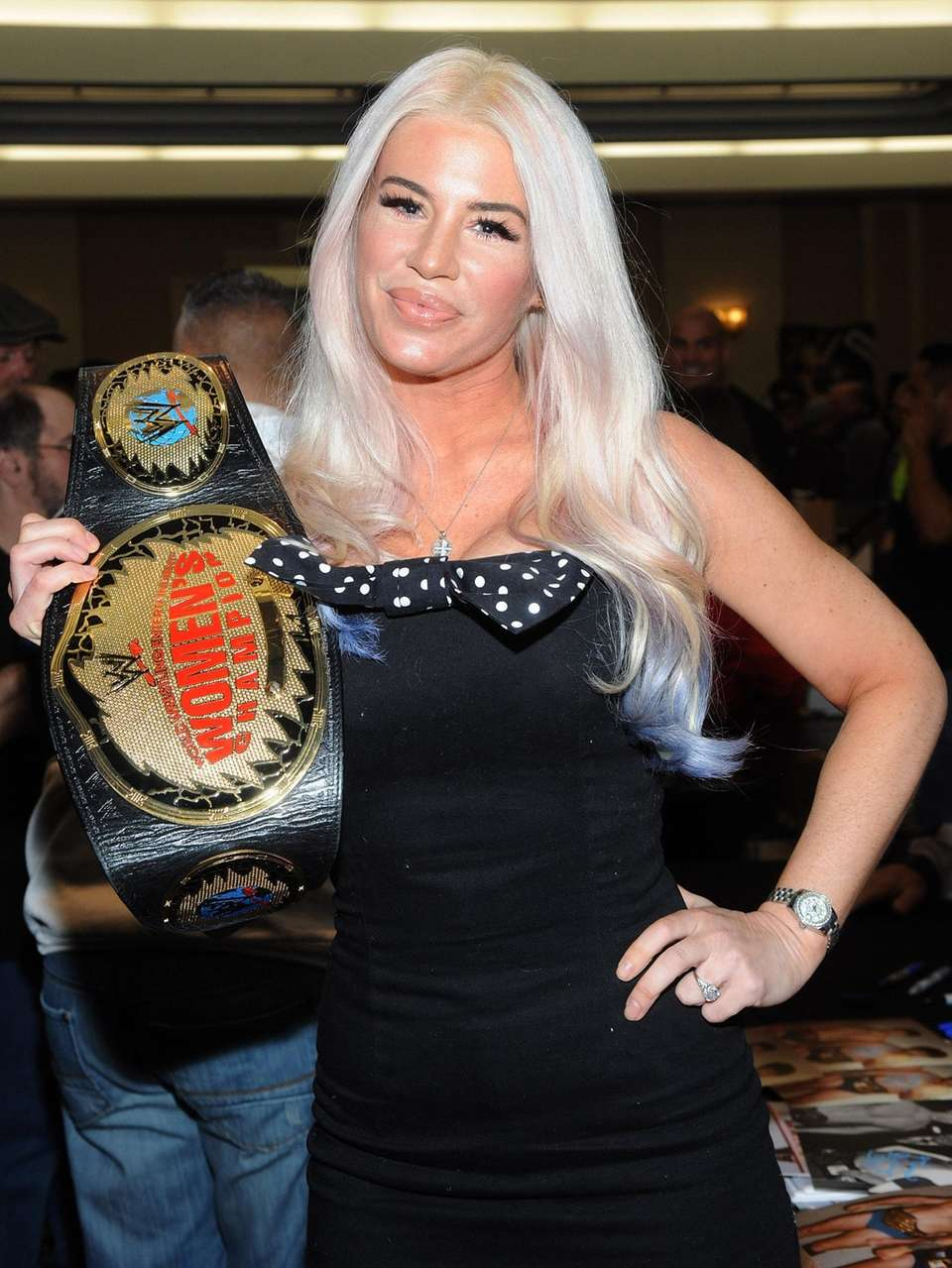 "Ashley Massaro attends the ""Big Event"" at the"