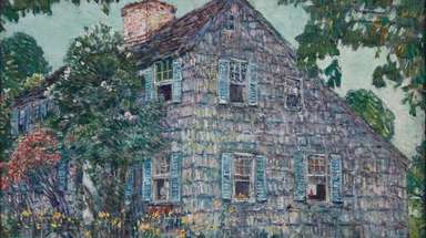 "Childe Hassam's ""Old House East Hampton"" is featured"