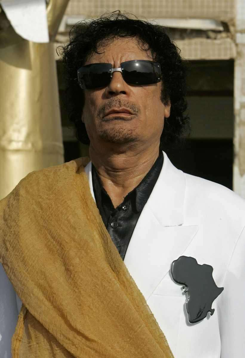 In this July 25, 2007, file photo, Libyan