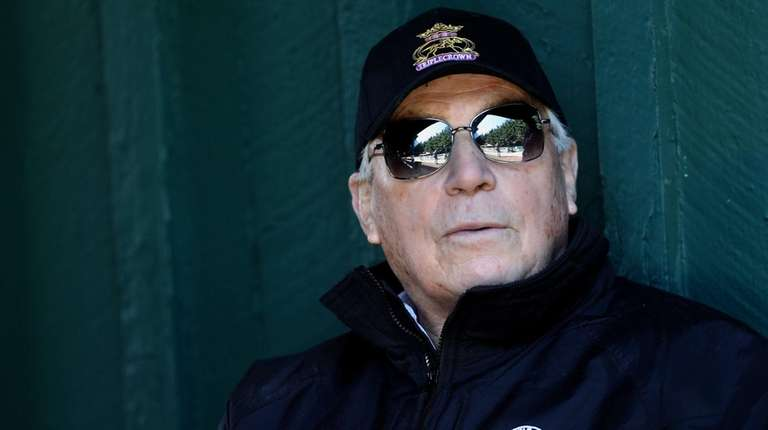 Hall of Fame trainer D. Wayne Lukas looks