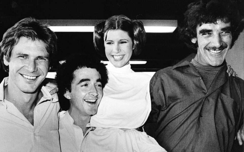 ADDS NAME OF CARRIE FISHER'S CHARACTER AND BYLINE