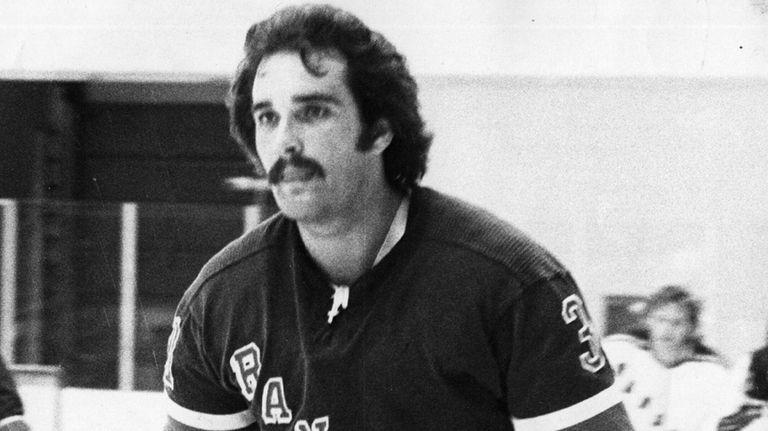 John Davidson during Rangers practice at N.C. Arena