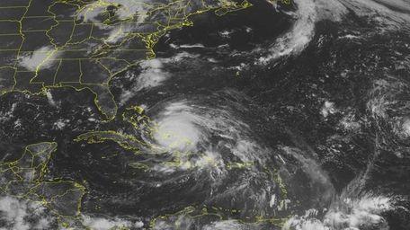 This NOAA satellite image taken Wednesday, August 24,
