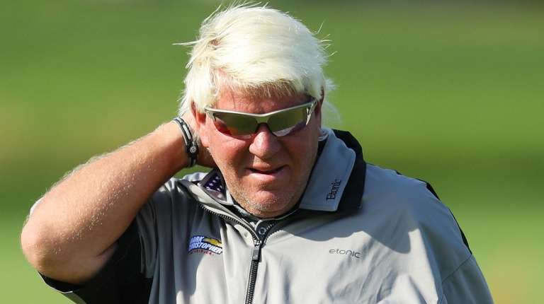 John Daly, shown here during Friday's second round