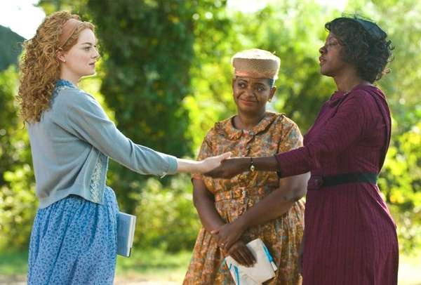 Emma Stone, Octavia Spencer and Viola Davis in