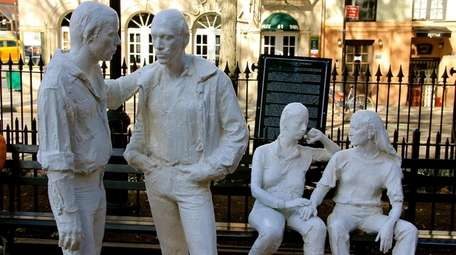 George Segal's sculptures for the Gay Liberation Monument