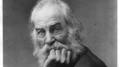 Poet Walt Whitman, circa 1869, would have been