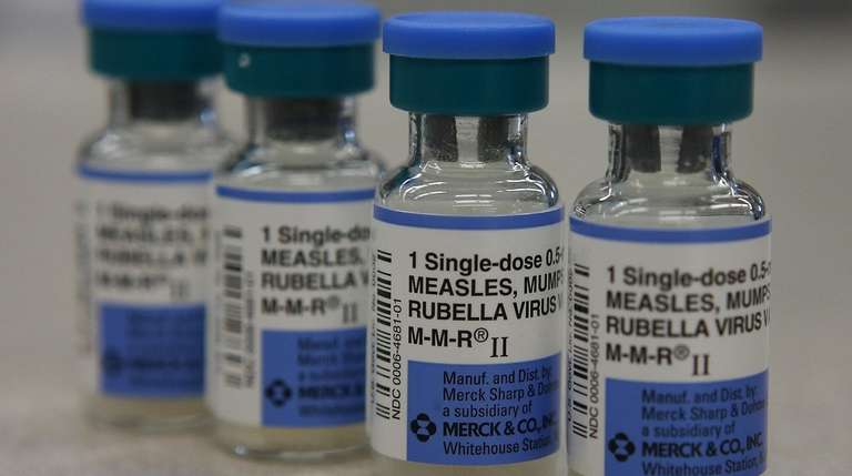 Merck, the sole U.S. supplier of measles vaccines,