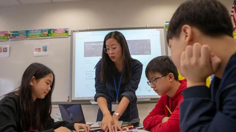 Jennifer Han, an English Language Arts teacher at