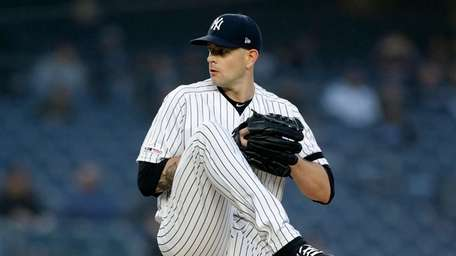 James Paxton of the Yankees delivers a pitch