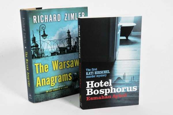Two mysteries: THE WARSAW ANAGRAMS by Richard Zimler,