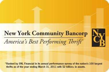 NY Community Bancorp operates New York Community Bank,