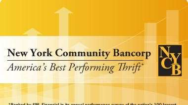 NY Community Bancorp operates New York Community Bank,