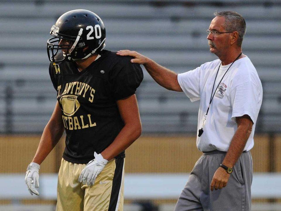 St. Anthony's High School varsity football head coach