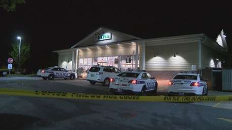 Suffolk police investigate an armed robbery of a