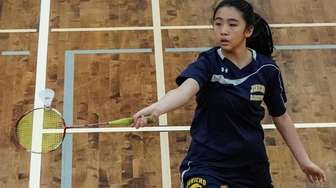 Allison Ng of Jericho competes in the Nassau