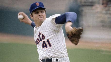 Mets pitcher Tom Seaver.