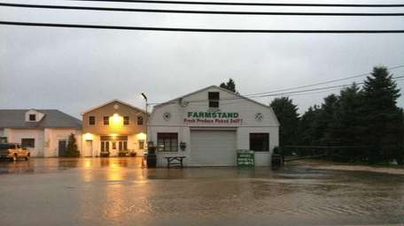 A farm in East Northport as Hurricane Irene