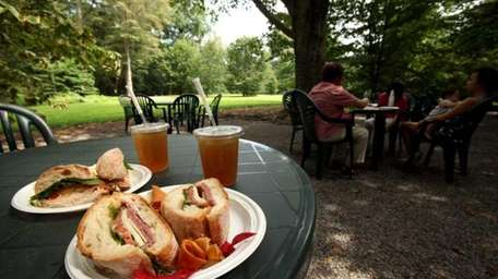 Cafe in the Woods, on the grounds of
