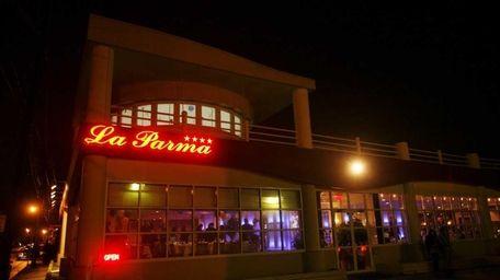 La Parma on the waterfront in Port Washington.