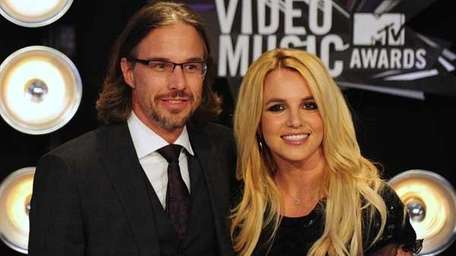 Britney Spears and Jason Trawick.
