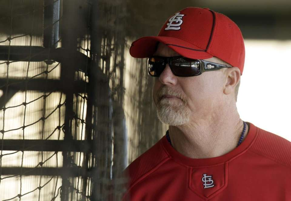 MARK MCGWIRE: 583 - Played 1986-2001 (16 seasons)