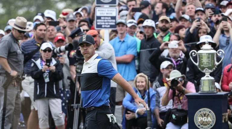 Brooks Koepka during the final round of the