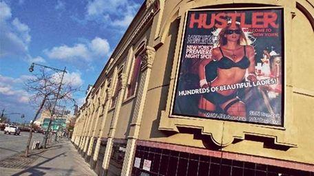 The Hustler nightclub on Manhattan West Side. (Getty
