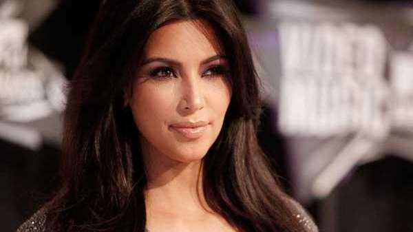 An undated file photo of reality star Kim