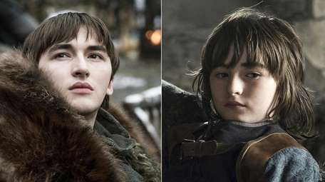 Isaac Hempstead Wright appears in the role of