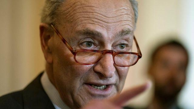 In this May 14, 2019 photo, Senate Minority