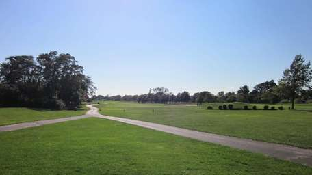 First hole at Bergen Point on Aug. 30,