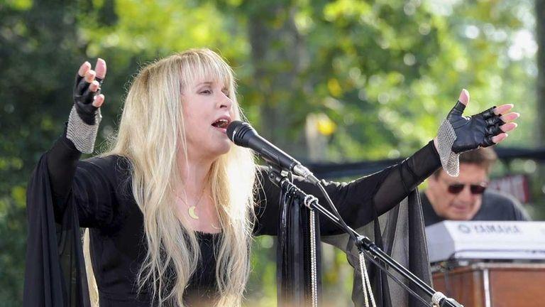 Stevie Nicks performs on ABC's