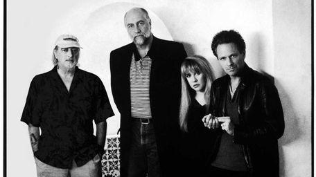 From left, John McVie, Mick Fleetwood, Stevie Nicks