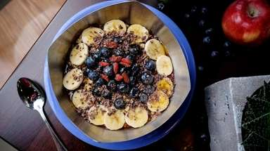 An acai bowl at Vitality Bowls in Smithtown