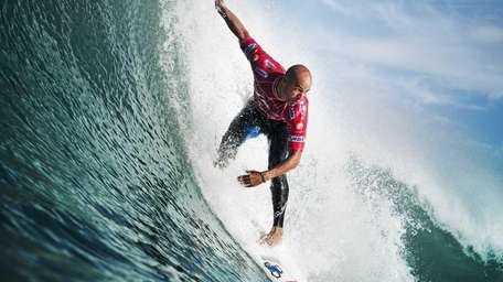 10-time world champion Kelly Slater, who will be