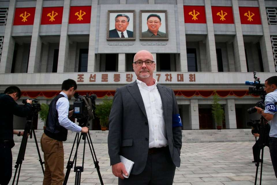 Eric Talmadge, who as North Korea bureau chief
