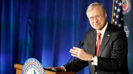 Ed Cox, Chairman of the NYGOP, speaks to