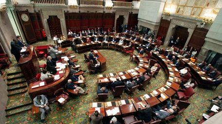 State senators approved legislation on May 8 in
