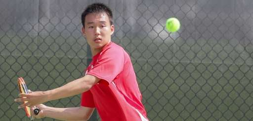 Michael Han of Half Hollow Hills East competes