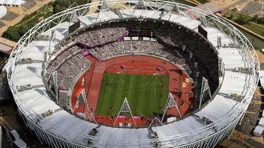 In this Aug. 3, 2012, photo, Olympic Stadium