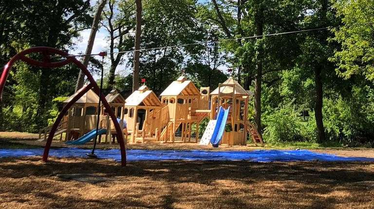 The new Woodland Playground at The Sands Point