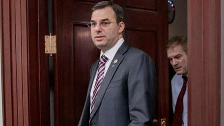 Rep. Justin Amash (R-Mich.), followed by Rep. Jim