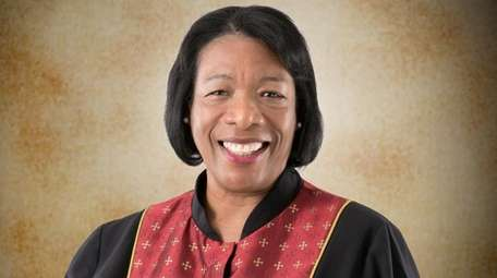 The Rev. Wendy C. Modeste, pastor of United