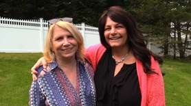 Lorraine Daly and MaryLou Gonzalez, of Lake Ronkonkoma,