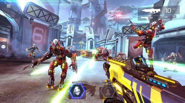 Shadowgun Legends takes players to beautifully rendered worlds